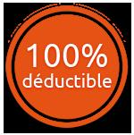 100% déductible
